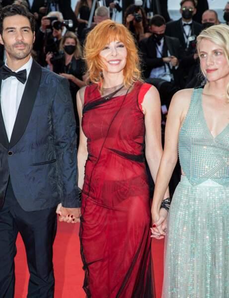 Cannes 2021 : Mylène Former en mode eighties
