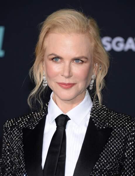 Le chignon flou de Nicole Kidman