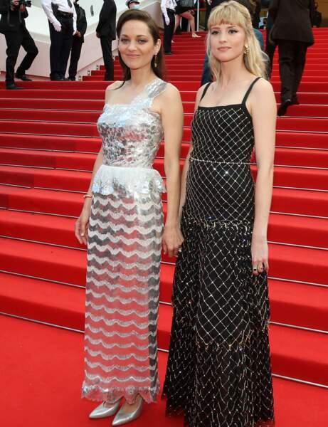 Cannes 2021 : Marion Cotillard et Angèle en glam'rock