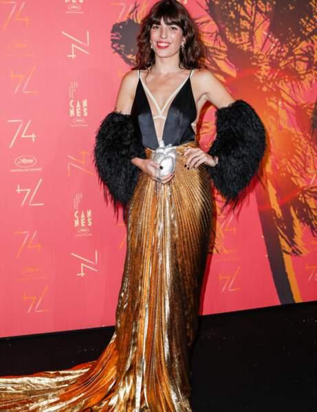 Cannes 2021 : Lou Doillon en mode rétro