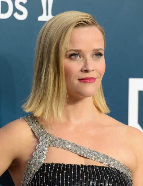 Le carré lisse de Reese Witherspoon