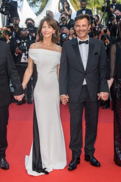 Cannes 2021 : Sophie Marceau chic en robe
