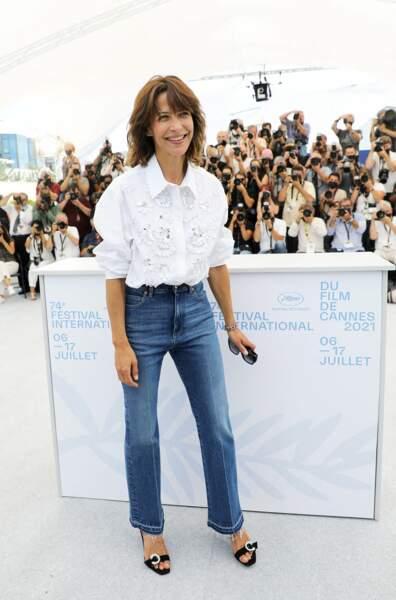 Cannes 2021 : Sophie Marceau en jean