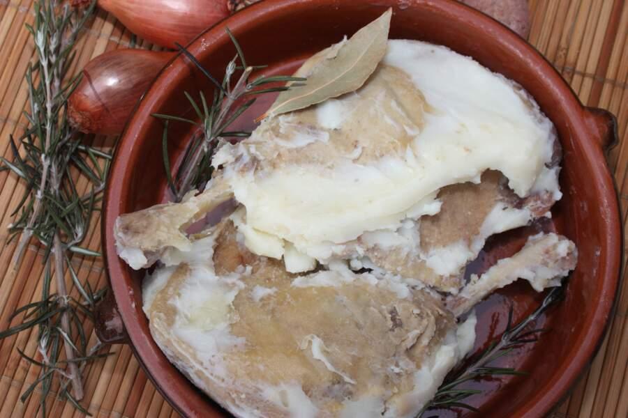La graisse d'oie, de canard, de dinde ou encore de poule