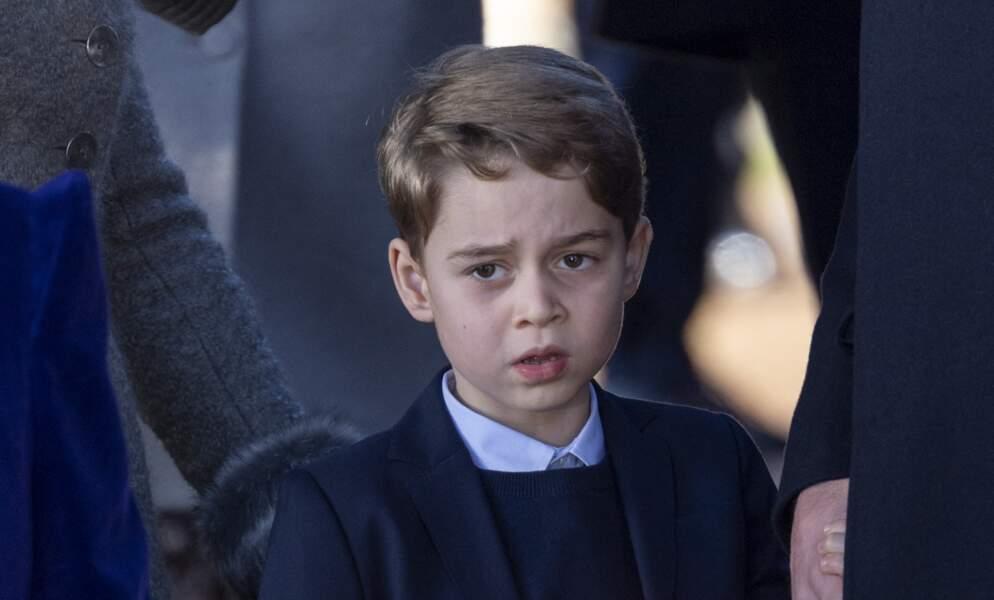 Le prince George dévasté
