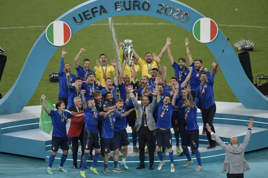 L'Italie a remporté la finale de l'Euro 2020