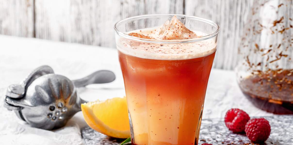 Mocktail The Sunset Holiday