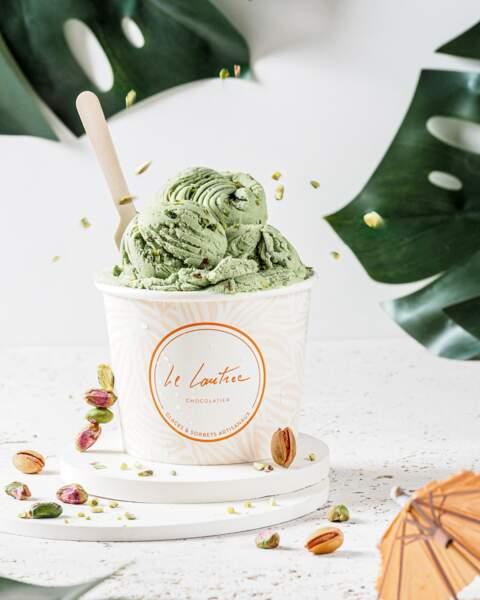 Crème glacée à la pistache - Le Lautrec