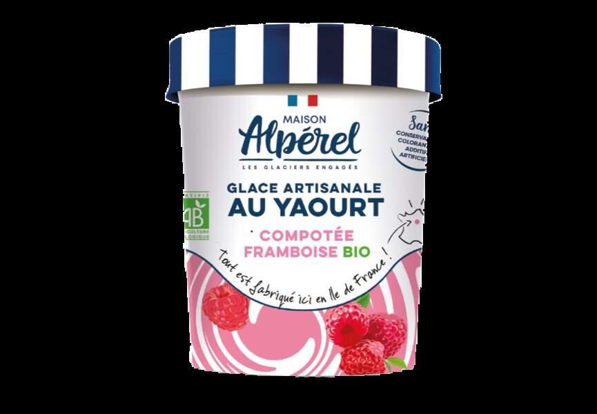 Pot de glace yaourt bio - Maison Alpérel