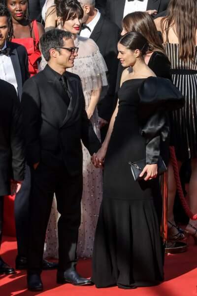 Gael Garcia Bernal et sa compagne Fernanda Aragones à la clôture du 72e Festival International du Film de Cannes le 25 mai 2019.