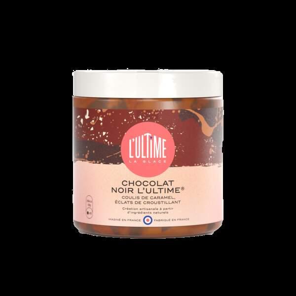 Pot de glace chocolat noir - L'Ultime