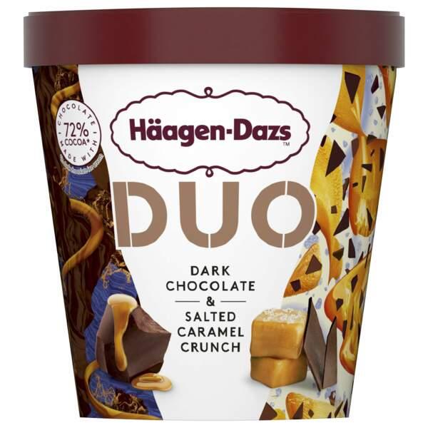 Duo chocolat noir caramel au beurre salé - Häagen-Dazs