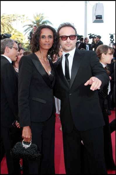 """Karine Silla et Vincent Perez ont aussi monté les marches à Cannes pour le film """"The Artist""""."""