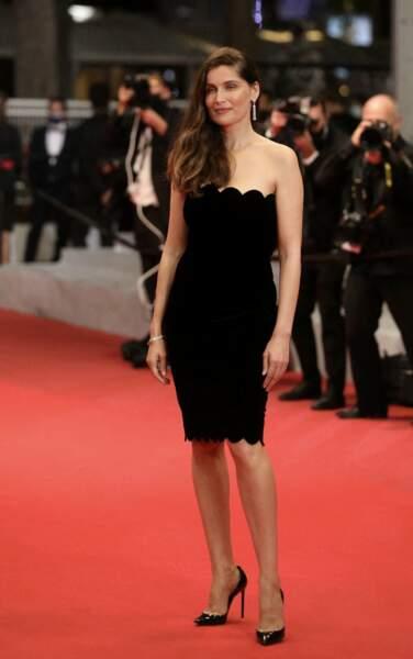 Cannes 2021 : Laetitia Casta en robe bustier