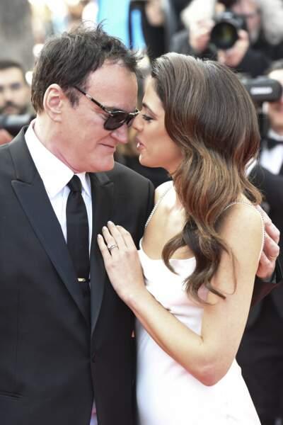 """... à la projection du film """"Once upon a time in Hollywood"""", lors du 72e Festival International du Film de Cannes, le 21 mai 2019."""