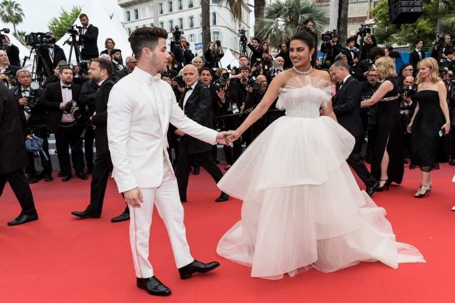 Nick Jonas et sa femme Priyanka Chopra...