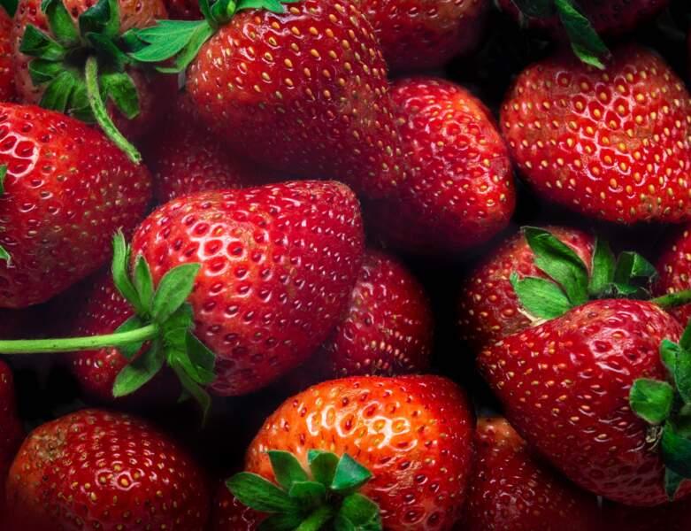 Des fraises pour un sourire parfait