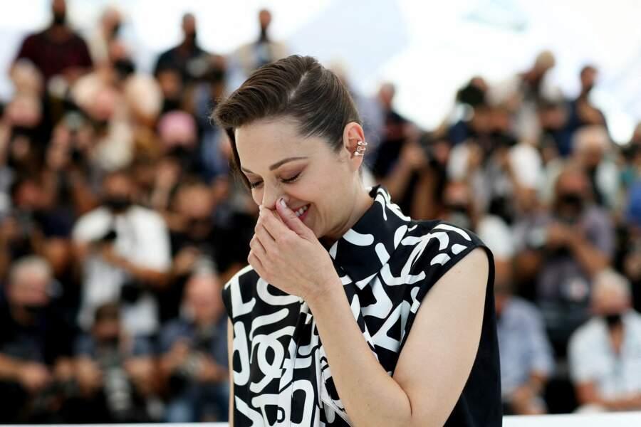 "Marion Cotillard au photocall du film ""Annette"""
