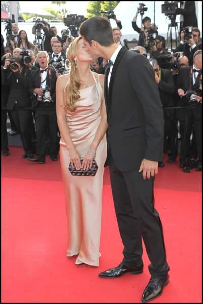 Novak Djokovic amoureux de sa femme Jelena Ristic...