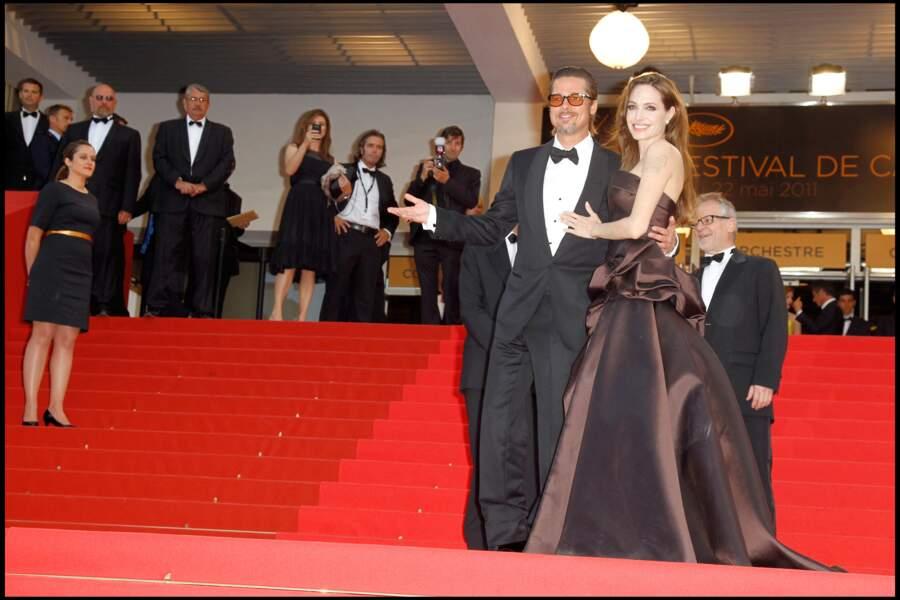 """... du film """"The tree of life"""", à la 64e Festival du film de Cannes, le 16 mai 2011."""