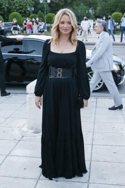 Look Virginie Efira : robe longue