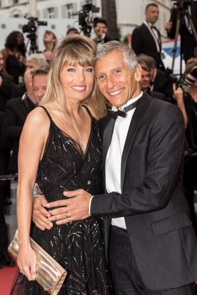 ... Nagui et sa femme, la comédienne Mélanie Page...