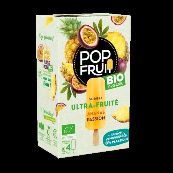Batonnet ananas passion bio - PopFruit