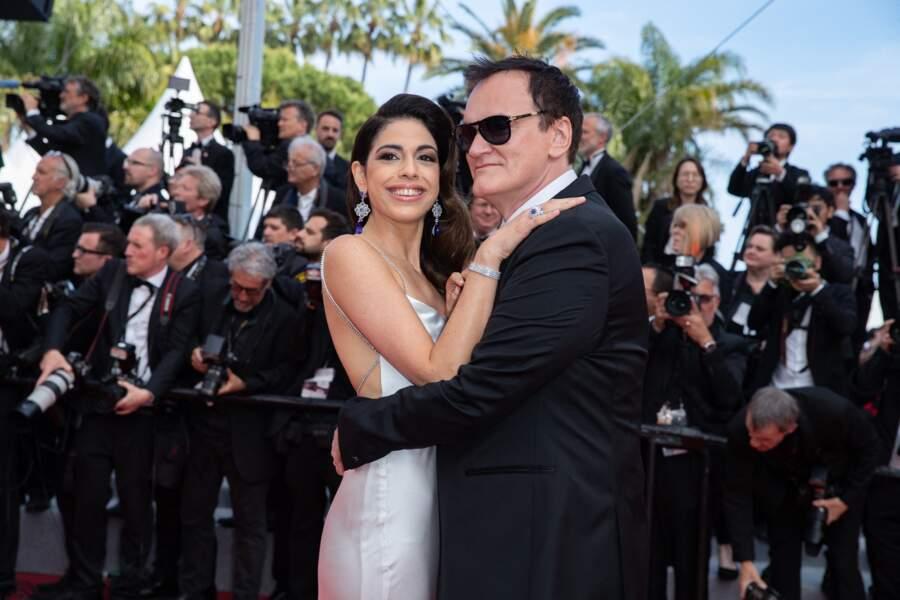 Quentin Tarantino et sa femme Daniella Pick...