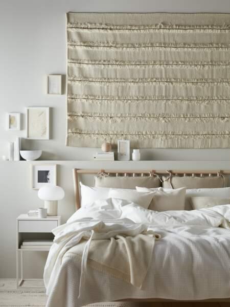 Inspiration bohème et hygge pour la chambre - Ikea