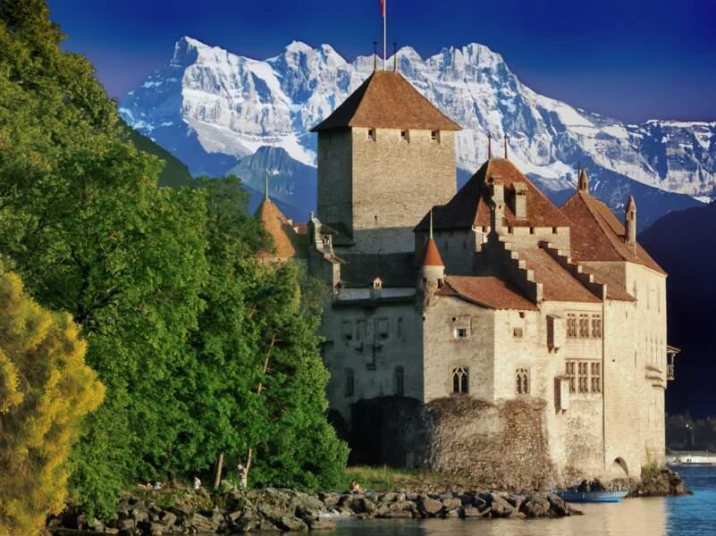 Le château de Chillon, le monument le plus visité de Suisse