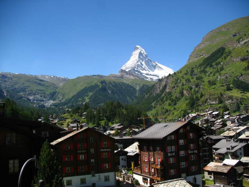 Une vue imprenable sur le Cervin depuis Zermatt
