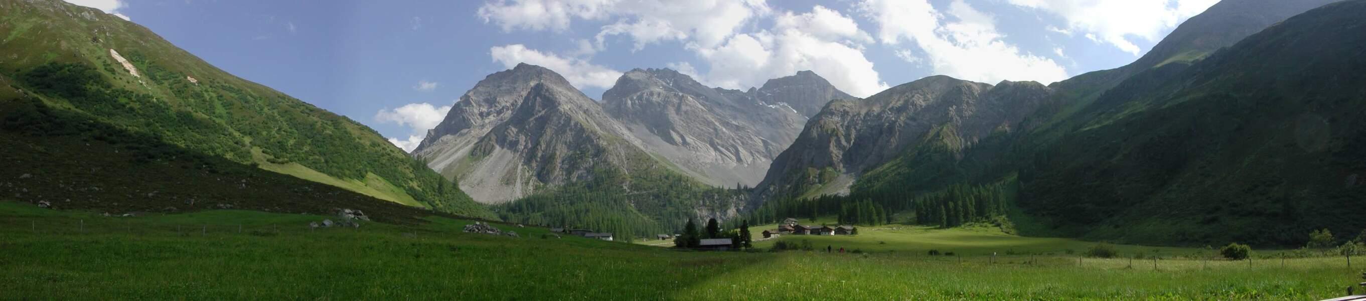 La vallée de Sertig près de Davos