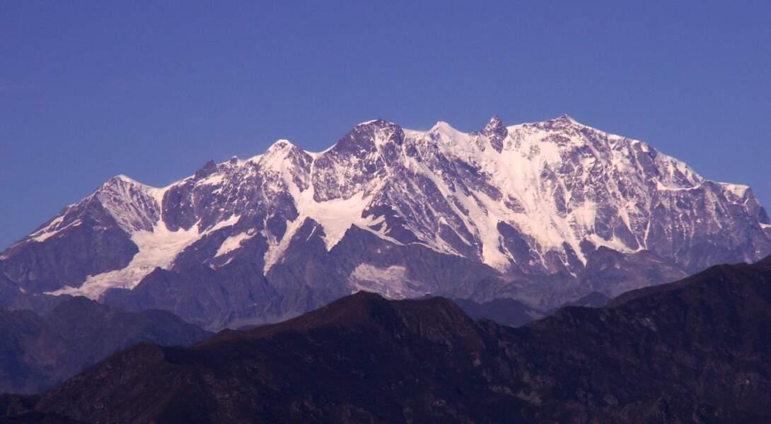 Le mont Rose, le bien nommé