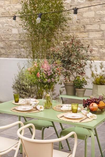 Ambiance bucolique pour la terrasse - Bergamotte