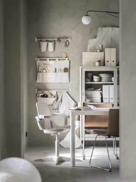 Bureau moderne à la déco épurée - Ikea