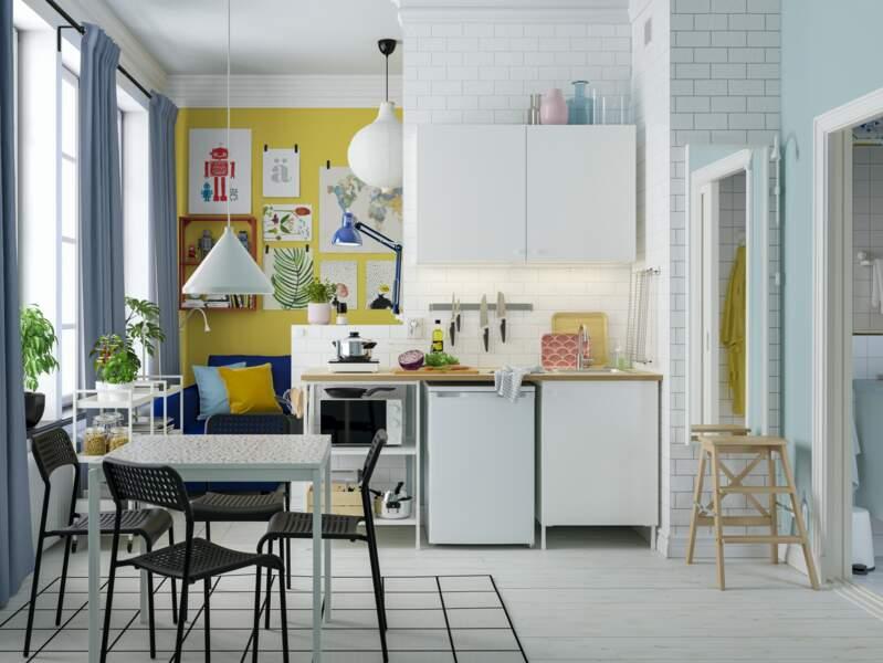 Cuisine à la déco colorée - Ikea