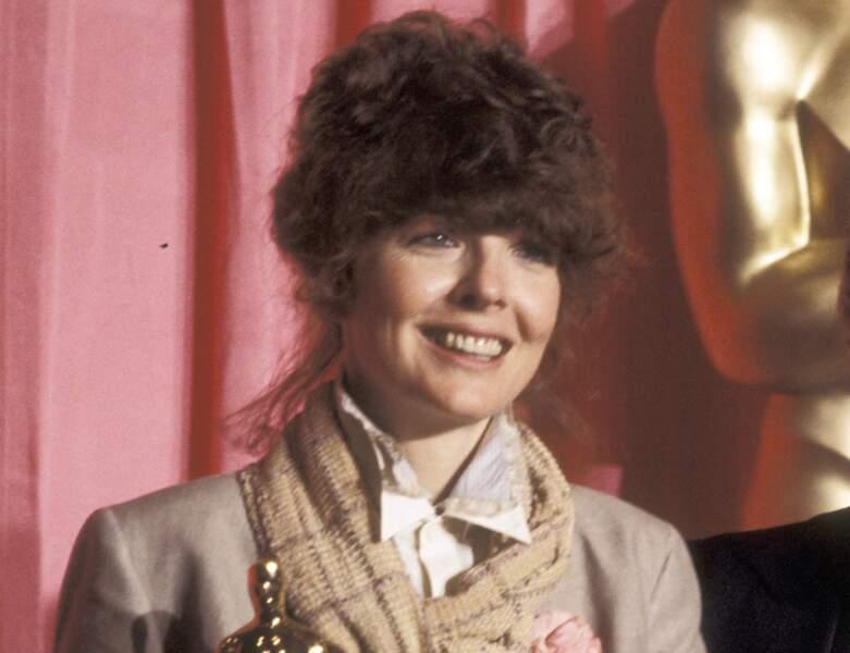La frange volumineuse de Diane Keaton