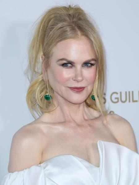 La queue-de-cheval haute comme Nicole Kidman