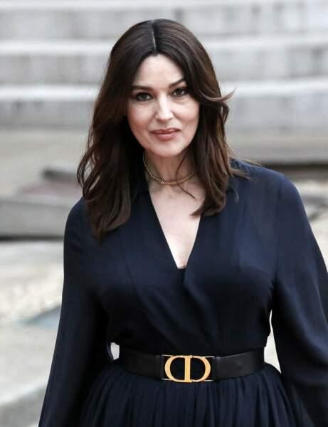 La coupe dégradée de Monica Bellucci