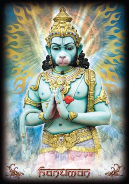 Oracle Hindou : Hanuman
