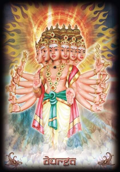 Oracle Hindou : Durga