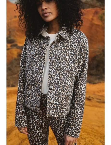 Veste tendance : léopard