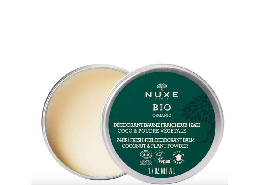 Le déodorant baume fraîcheur Nuxe