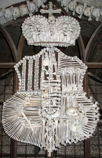 L'ossuaire de Sedlec, une étrange chapelle