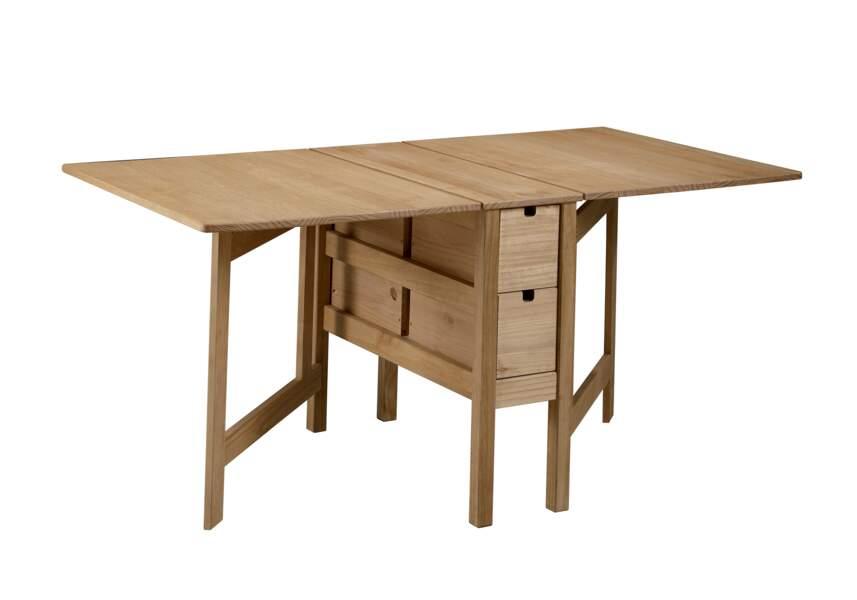 Table dépliante