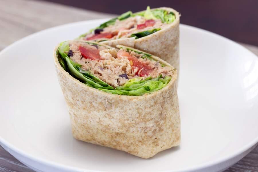 Wrap de thon : des recettes gourmandes et légères