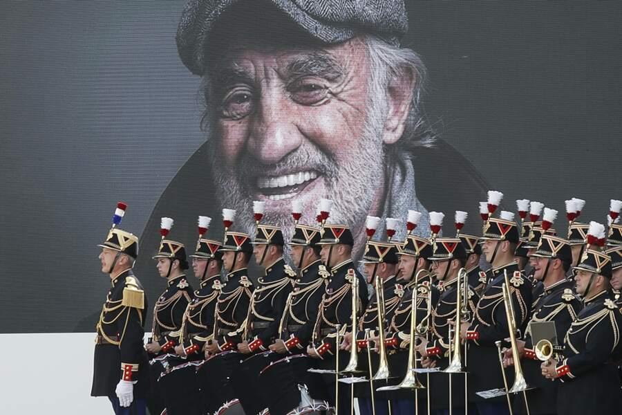 L'hommage nationale de Jean-Paul Belmondo aux Invalides