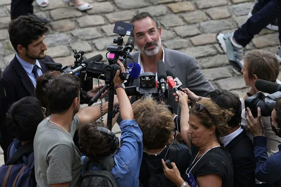 Jean Dujardin aux Invalides