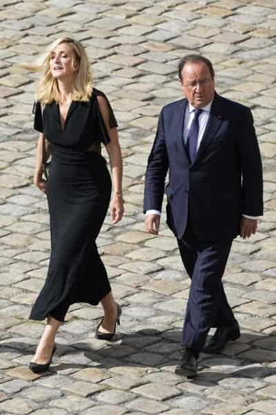 Julie Gayet et François Hollande aux Invalides