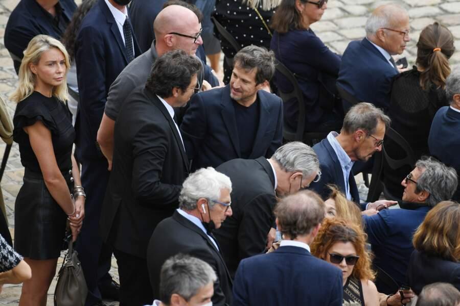 Hommage de Jean-Paul Belmondo : Marion Cotillard, Jean Dujardin, Laurent Gerra... Les stars aux Invalides